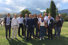 8th management meeting (Grenoble, September 9-10, 2015)